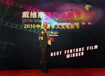 Best Feature Film Award (co-Director) at USA Davis Int Film Festival 2016