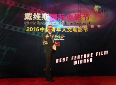 Best Feature Film Award (co-Director) at USA Davis Int Film Festival 2016