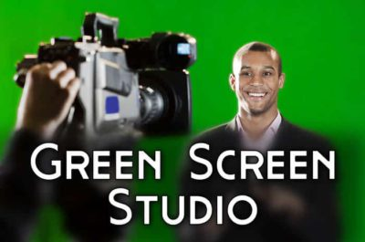 Blue Screen / Green Screen TV director / DP (Sample)
